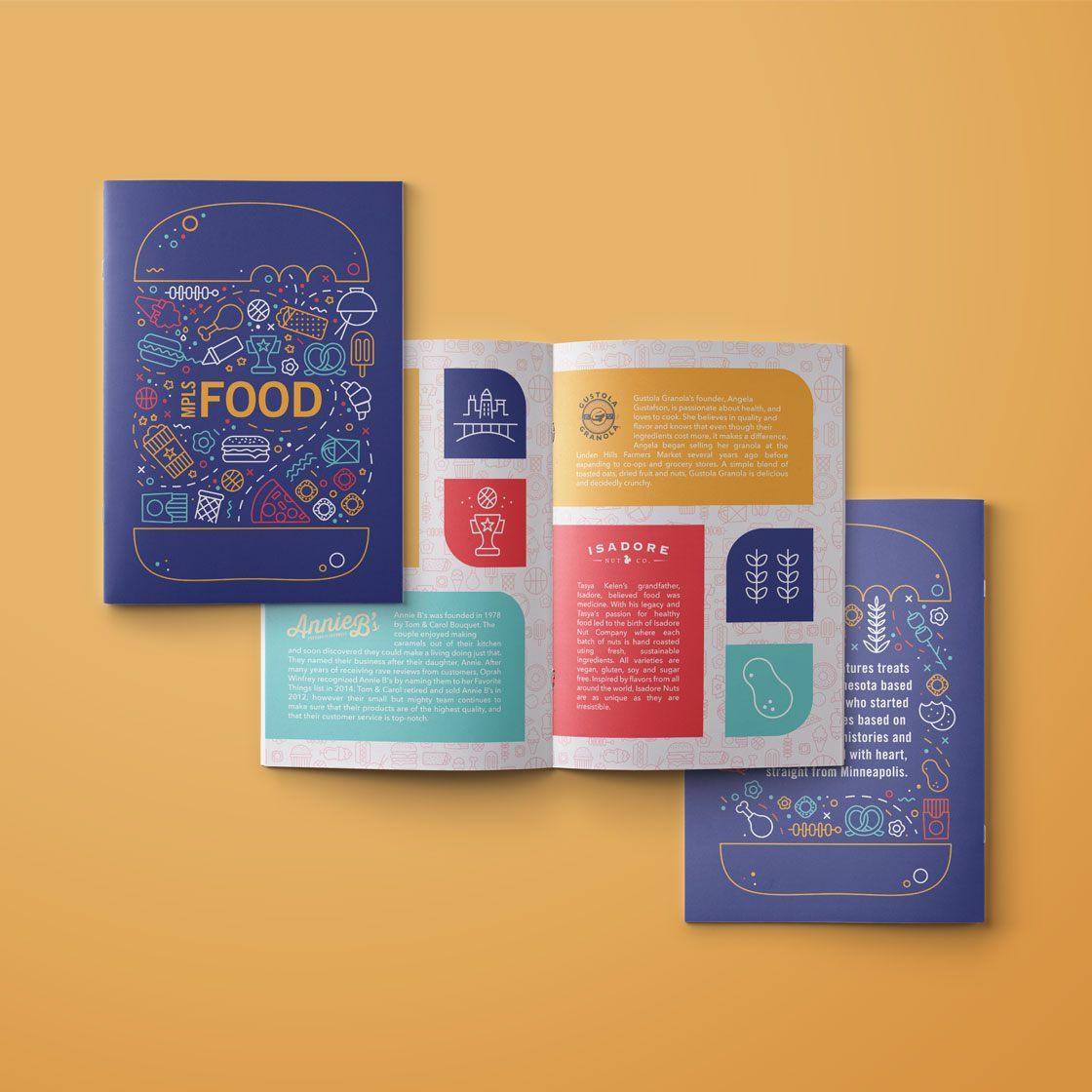 A digital rendering of a printed booklet