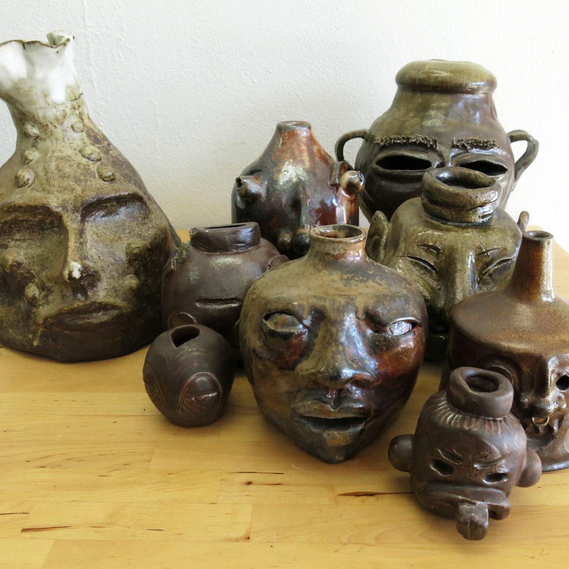 Handcrafted ceramic works