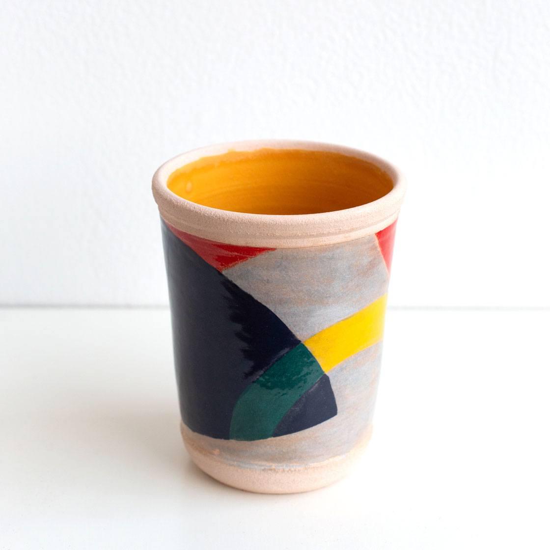 25th anniversary pattern ceramic mug