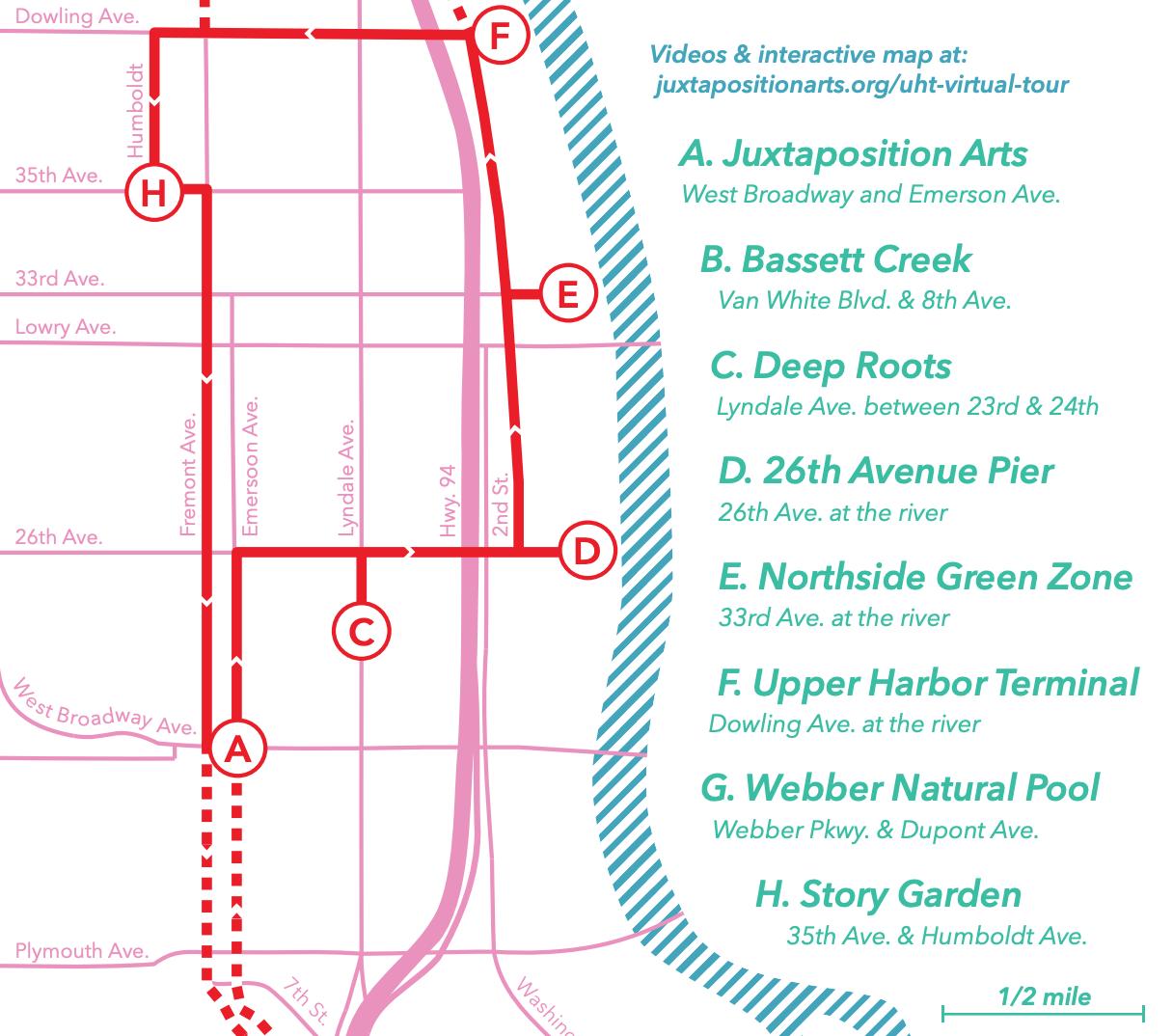 Printable EJ tour map