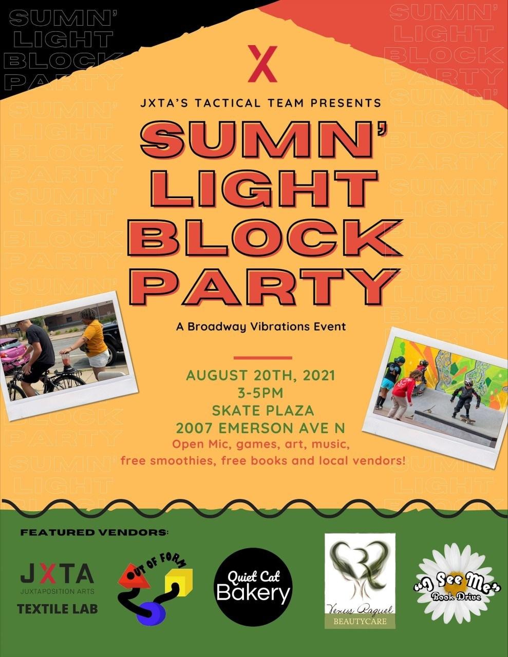 Sumn' Light Block Party image